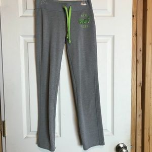 Abercrombie Grey Sweatpants for Girls Small